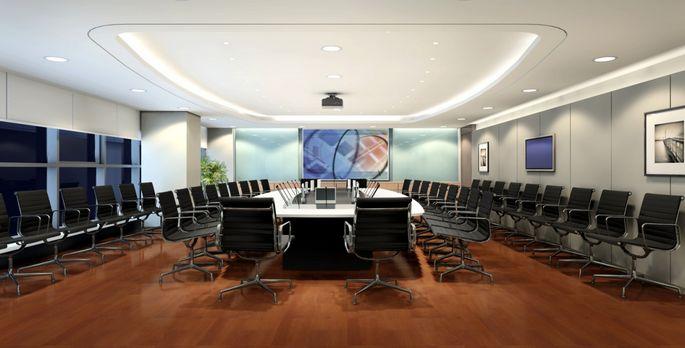智能会议室图片